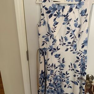 Alyx dress blue and white size 10